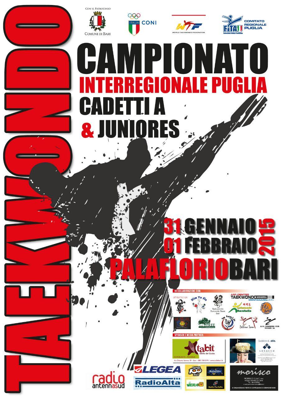 Campionato 2015 TKD Bari Fumarola Team